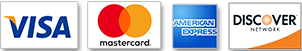 Payment Methods Accepted Visa Mastercard American Express and Discover